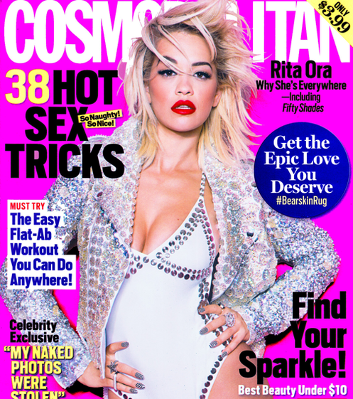 9862ad828e8672a79f4355b1e4275dd9 Hot Shot: Rita Ora Covers Cosmopolitan USA